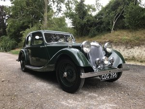 1938 Riley Kestrel 12/4 Six-Light Saloon -Reserved For Sale