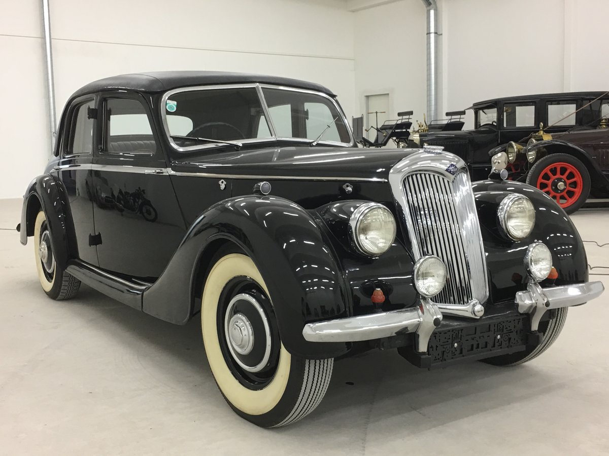 1948 Beautiful Riley RMA 1,5 with original upholstery For Sale (picture 6 of 6)