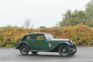 1935 RILEY 9HP KESTREL SALOON For Sale by Auction