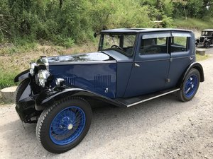 1931 Riley Alpine 14/6 Fabric Saloon - Delectable and Rare For Sale