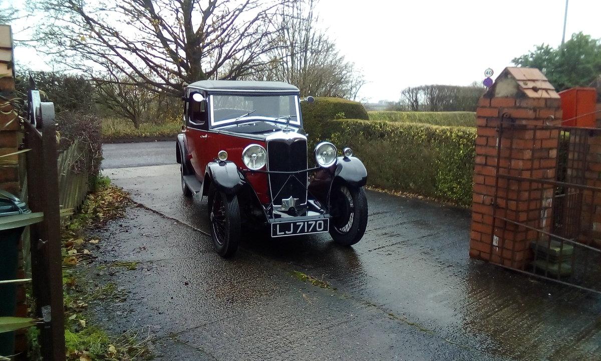 1933 Riley 9 Monaco For Sale (picture 1 of 6)