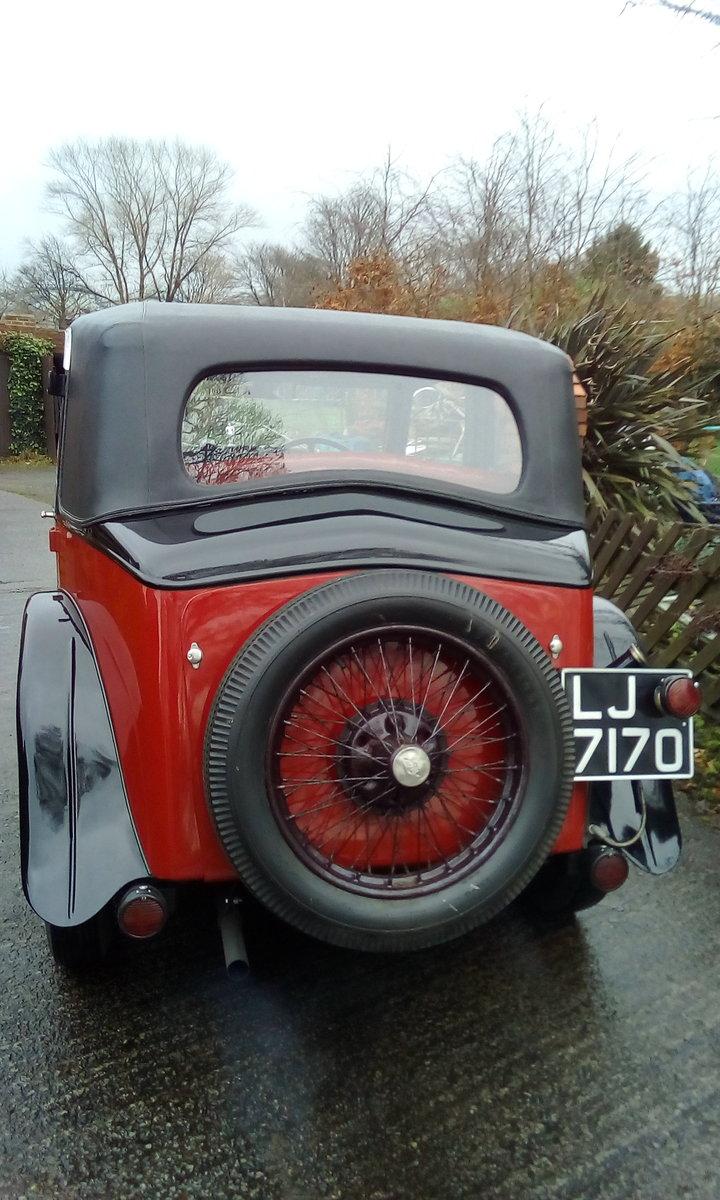1933 Riley 9 Monaco For Sale (picture 4 of 6)