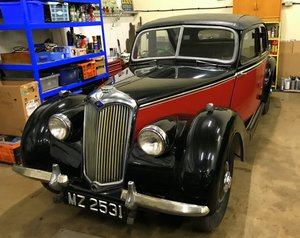 1948 Riley RMA, Rustic, Running Well For Sale
