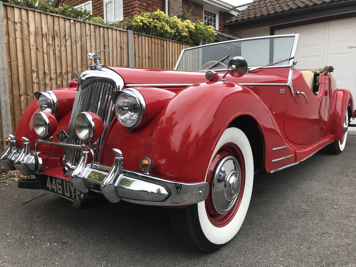 1950 Riley Rmc Rare For Sale Car And Classic