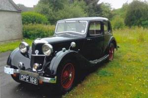 1935 Riley Merlin 12/4 For Sale by Auction