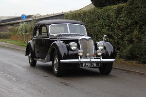 1952 Riley RMF 2.5 Saloon, Superb Driver, 20k Spent For Sale