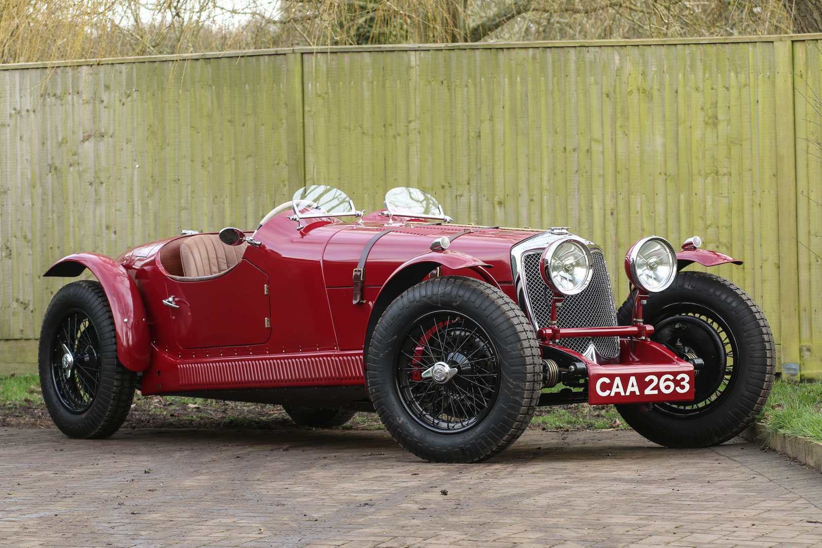 1937 Riley 'Big 4' 2.5l Special For Sale (picture 1 of 6)