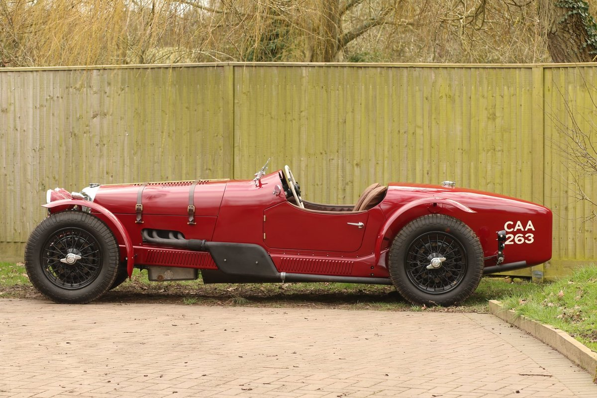 1937 Riley 'Big 4' 2.5l Special For Sale (picture 2 of 6)
