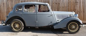 1936 Riley 15/6 Adelphi saloon For Sale by Auction