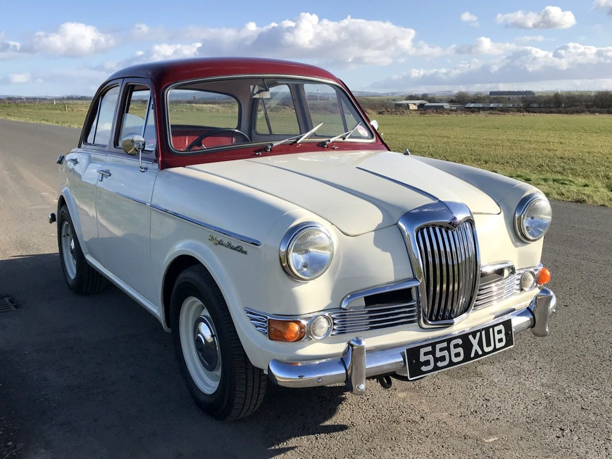 1961 Riley 1.5 with many sensible upgrades - Superb SOLD (picture 1 of 5)