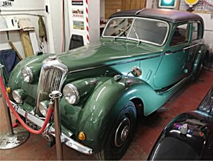 1951 Riley RMB 2.5 litre Saloon. Fully restored!