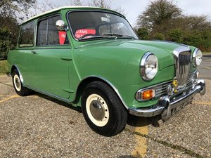 1965 Riley Elf MK2. Cumberland green. Fully restored.