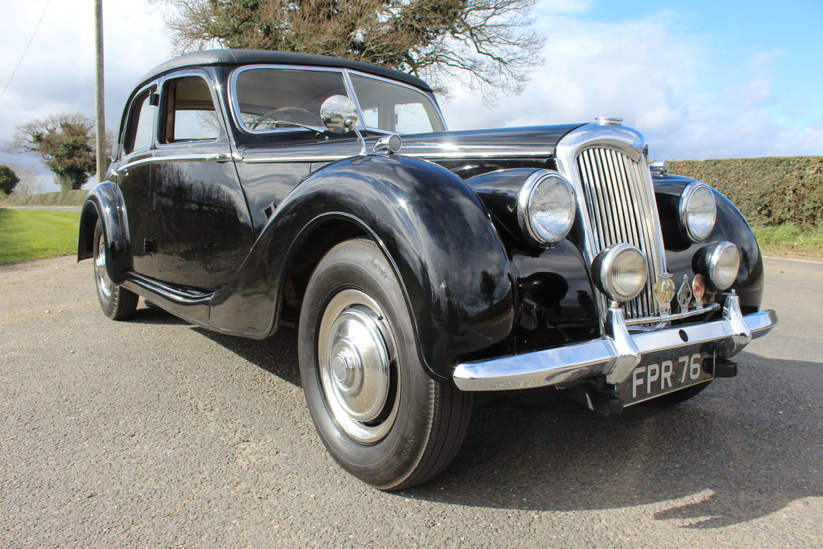 1952 Riley RMF 2.5 Saloon Beautiful 50,s Saloon  For Sale (picture 1 of 6)