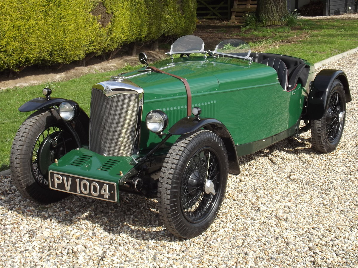 1934 Riley 9HP Sports Special - NOW SOLD - SIMILAR CARS WANTED Wanted (picture 1 of 6)