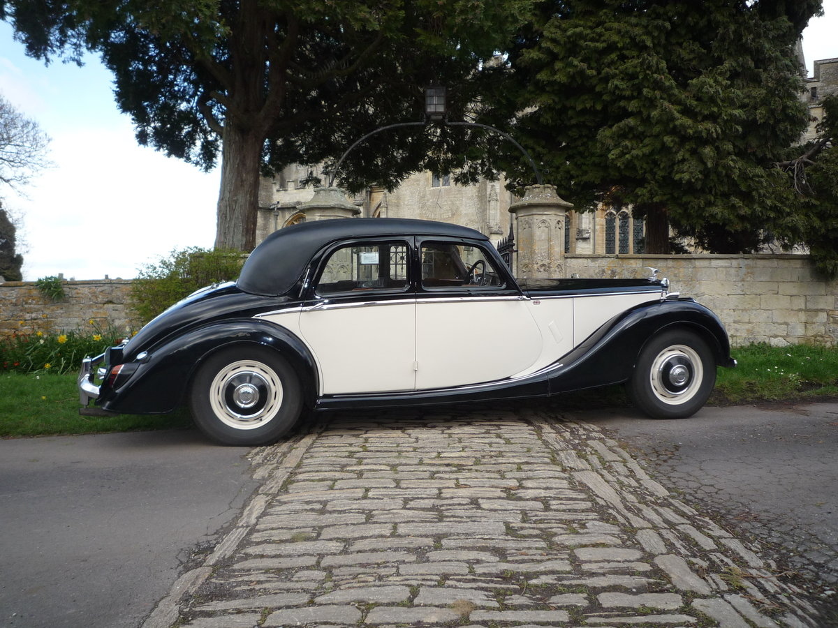 1953 RILEY 2.5 litre RMF  SOLD (picture 1 of 6)