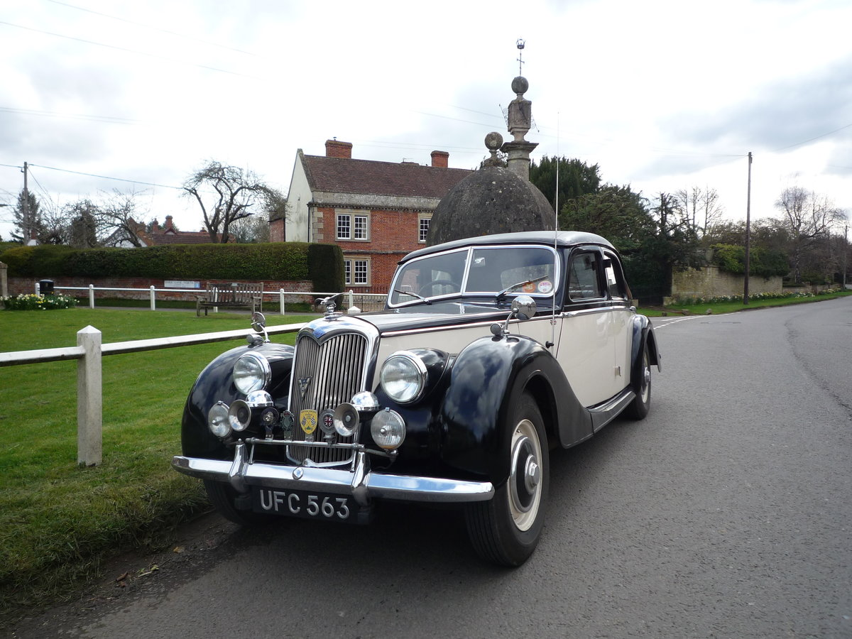 1953 RILEY 2.5 litre RMF  SOLD (picture 3 of 6)