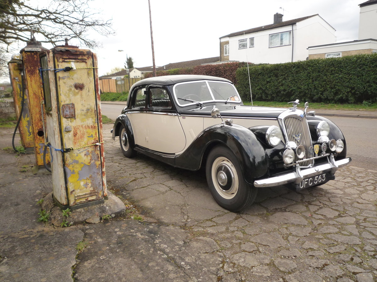 1953 RILEY 2.5 litre RMF  SOLD (picture 4 of 6)