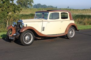 Riley 12/6 Mentone 1934 6 Cyl engine !