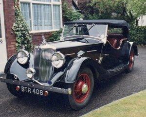 1938 Riley Big Four Lynx Tourer