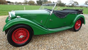 1936  Riley Tourer SPECIAL [pre select gear box]
