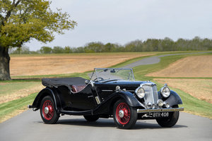 1938 Riley 16/ 4 Big Four Lynx Tourer - RESERVED SOLD