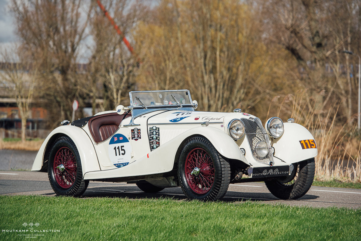 1936 RILEY 12/4 SPRITE, entrant in 7 Mille Miglia editions For Sale (picture 2 of 6)