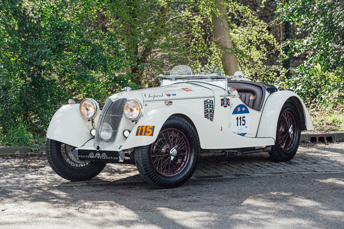1936 RILEY 12/4 SPRITE, entrant in 7 Mille Miglia editions For Sale (picture 4 of 6)