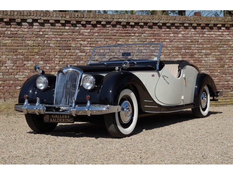 1950 Riley RMC Convertible Restored condition, RHD rare! For Sale (picture 1 of 6)