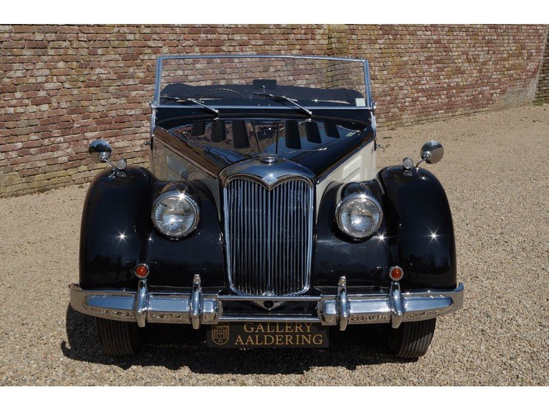1950 Riley RMC Convertible Restored condition, RHD rare! For Sale (picture 5 of 6)