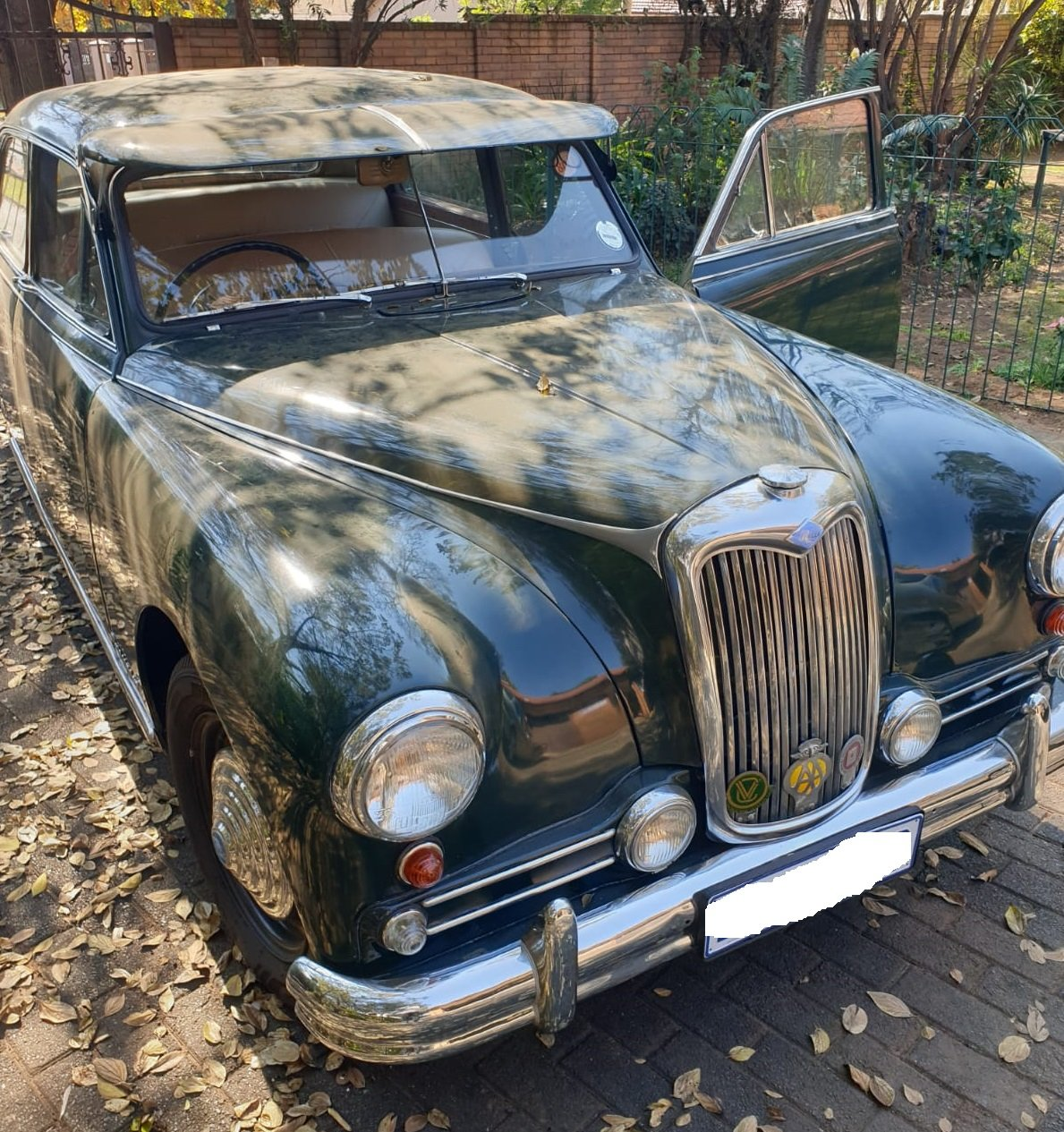 1955 Riley Pathfinder 2.5L good running condition For Sale (picture 1 of 6)