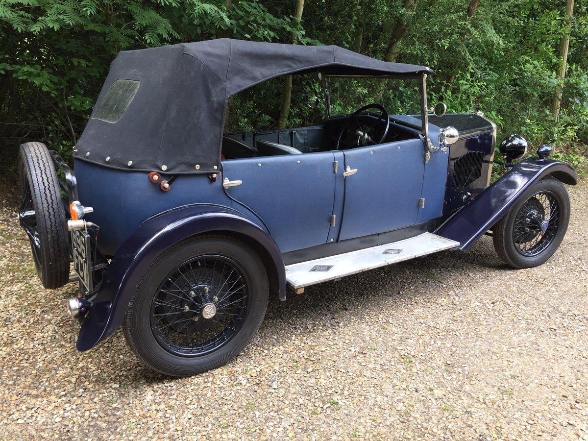 1928 Riley 9 Tourer - ideal VSCC car For Sale (picture 2 of 5)