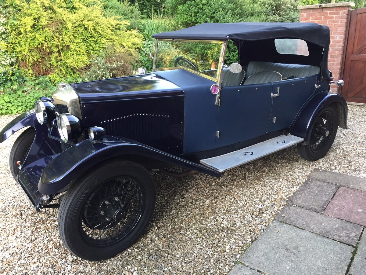 1928 Riley 9 Tourer - ideal VSCC car For Sale (picture 4 of 5)