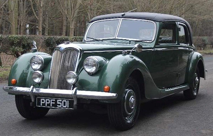 1951 Riley RMB 2.5 litre Saloon. Fully restored! For Sale (picture 1 of 6)