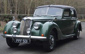 Picture of Exceptional 1951 Riley RMB 2.5 litre Saloon. For Sale