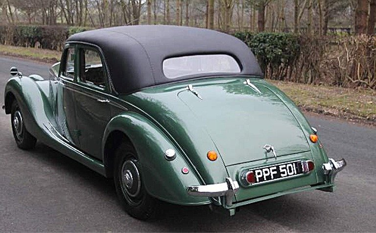 1951 Riley RMB 2.5 litre Saloon. Fully restored! For Sale (picture 2 of 6)