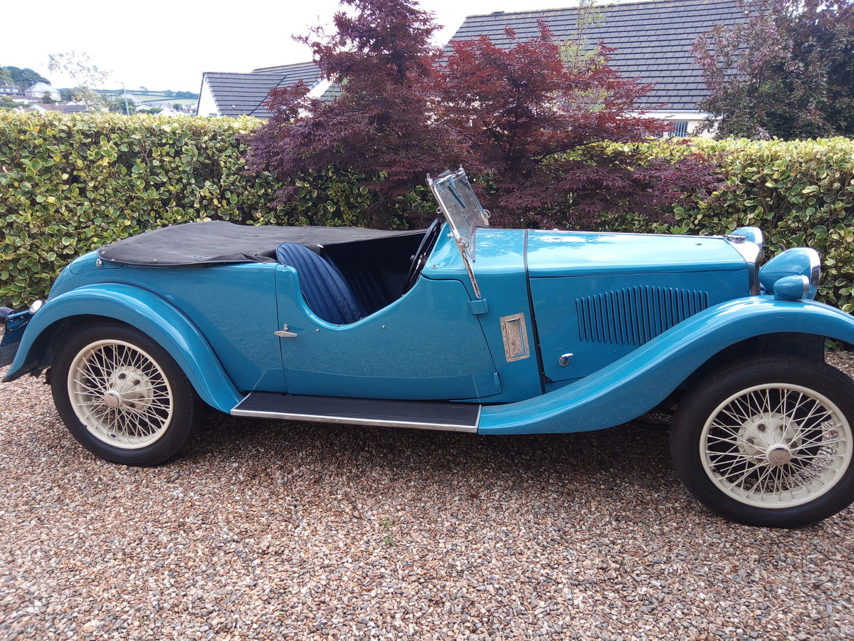 1933 Riley 9 Lynx Tourer For Sale (picture 1 of 6)