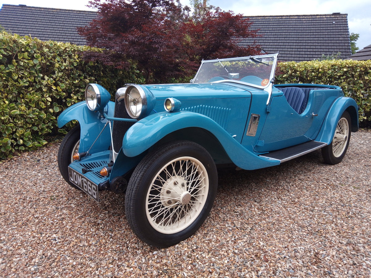 1933 Riley 9 Lynx Tourer For Sale (picture 2 of 6)