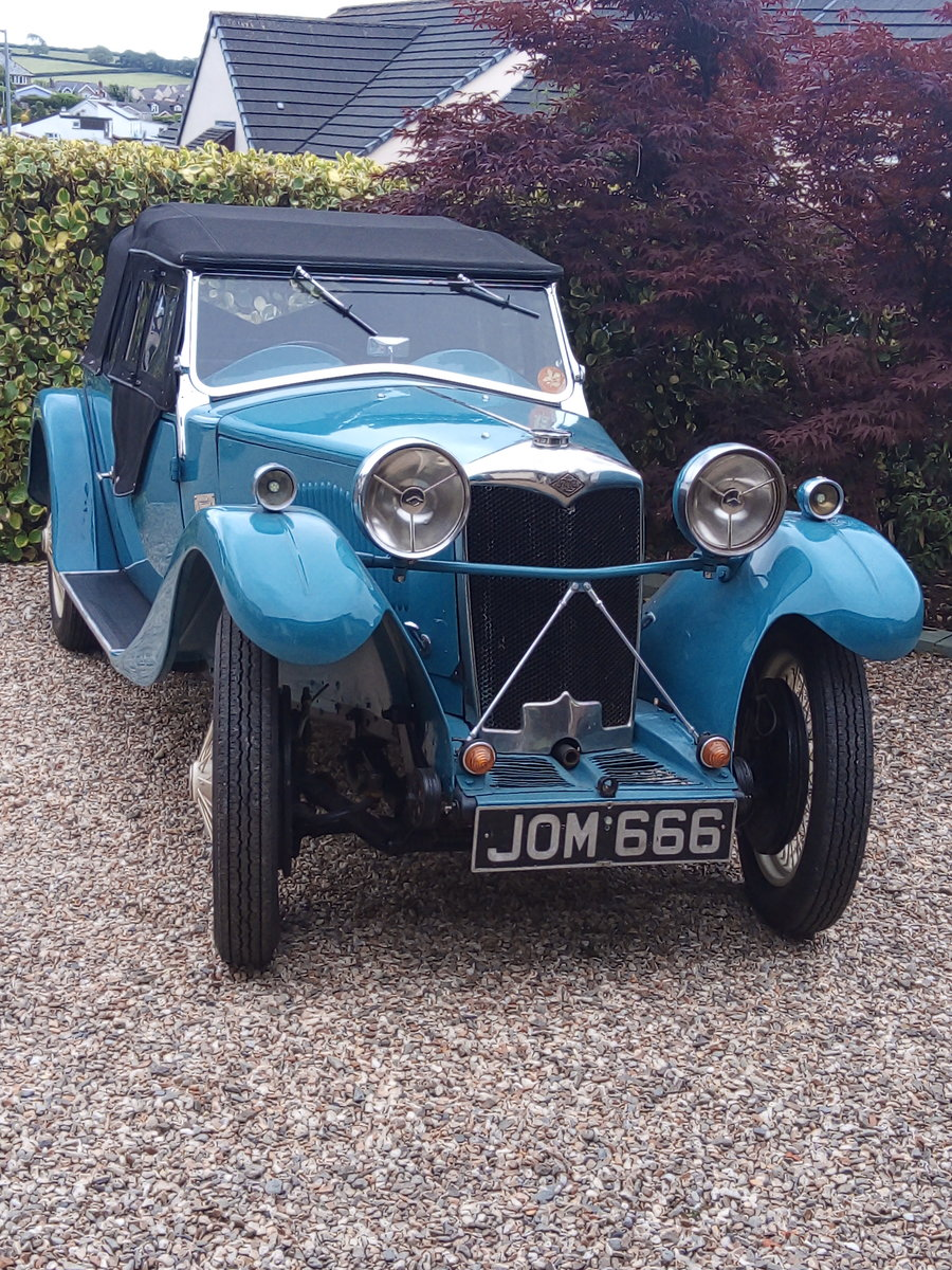 1933 Riley 9 Lynx Tourer For Sale (picture 3 of 6)