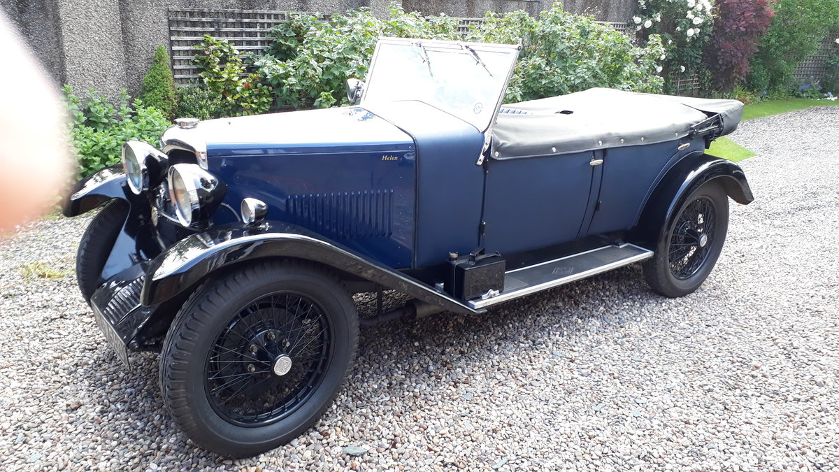 1931 RILEY 9 MARK 4 TOURER For Sale (picture 1 of 5)