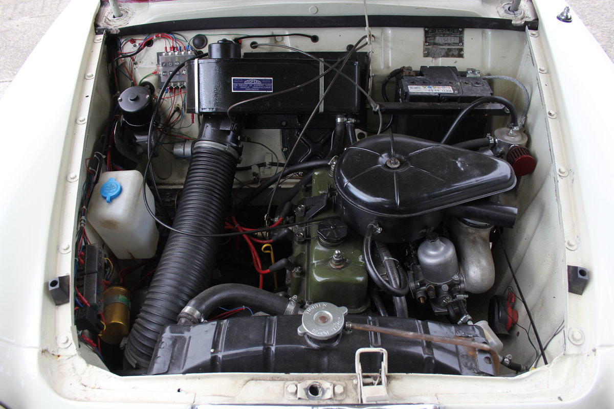 1961 Riley 1.5 - Highly upgraded with 1798cc engine/5 speed SOLD (picture 19 of 20)