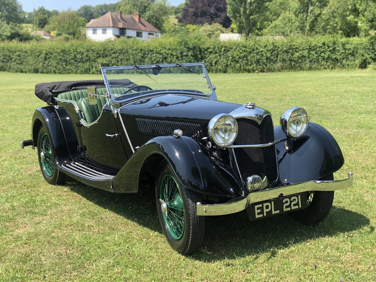 1937 Riley Lynx-Sprite - Major professional restoration For Sale (picture 1 of 24)
