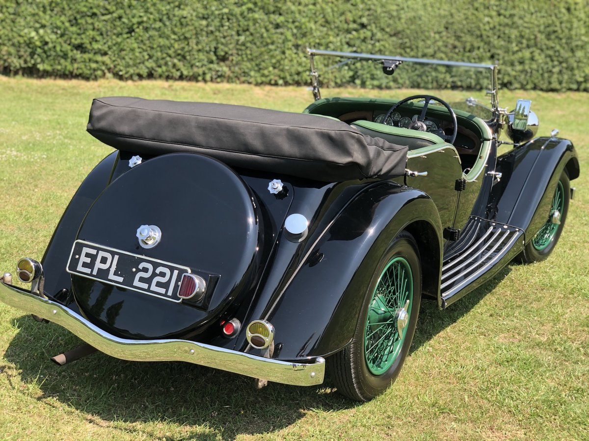 1937 Riley Lynx-Sprite - Major professional restoration SOLD (picture 2 of 24)