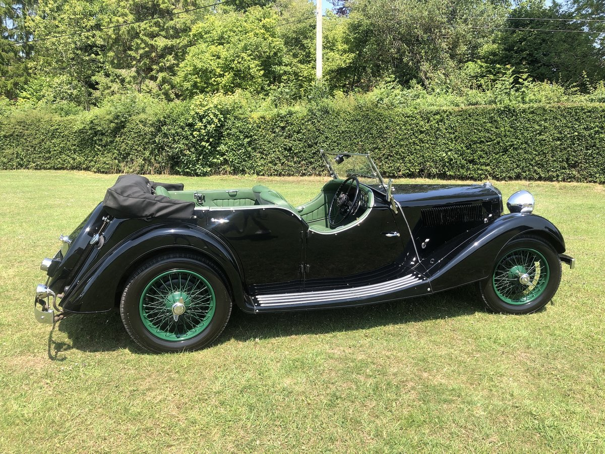 1937 Riley Lynx-Sprite - Major professional restoration SOLD (picture 4 of 24)