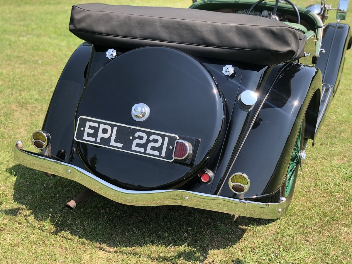 1937 Riley Lynx-Sprite - Major professional restoration For Sale (picture 5 of 24)