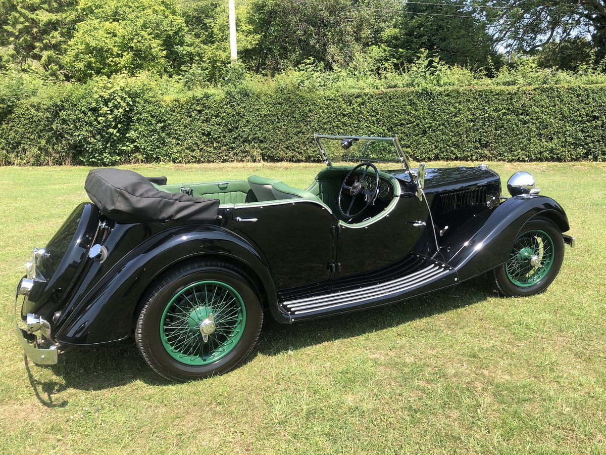 1937 Riley Lynx-Sprite - Major professional restoration SOLD (picture 6 of 24)