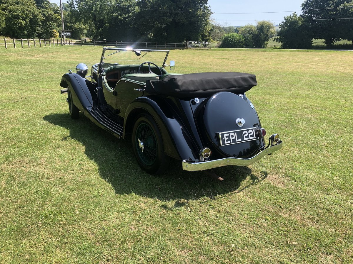 1937 Riley Lynx-Sprite - Major professional restoration For Sale (picture 17 of 24)