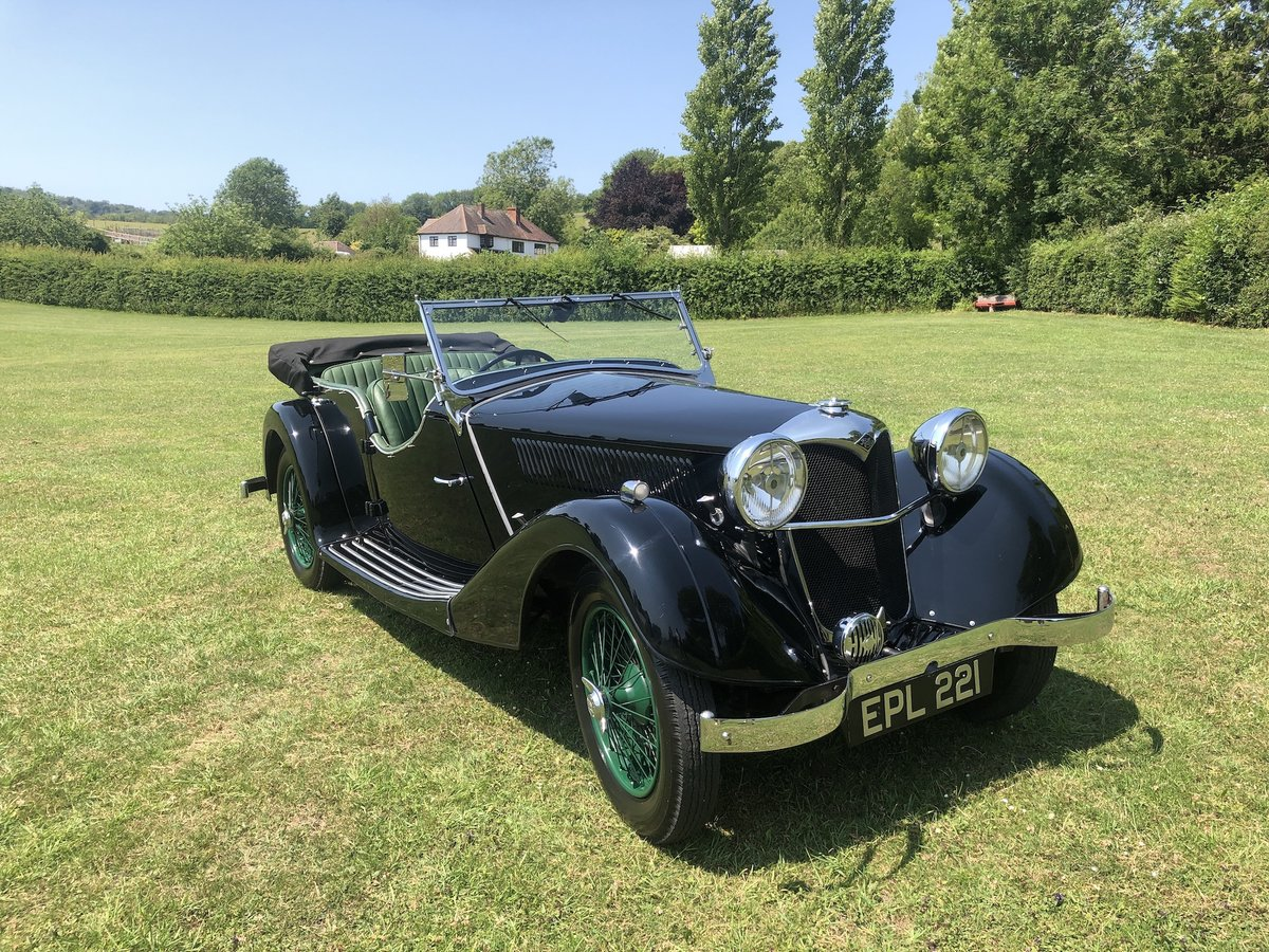 1937 Riley Lynx-Sprite - Major professional restoration For Sale (picture 21 of 24)