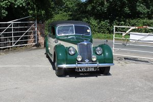 1952 Riley RMB 2.5 - 60k miles, exceptional history