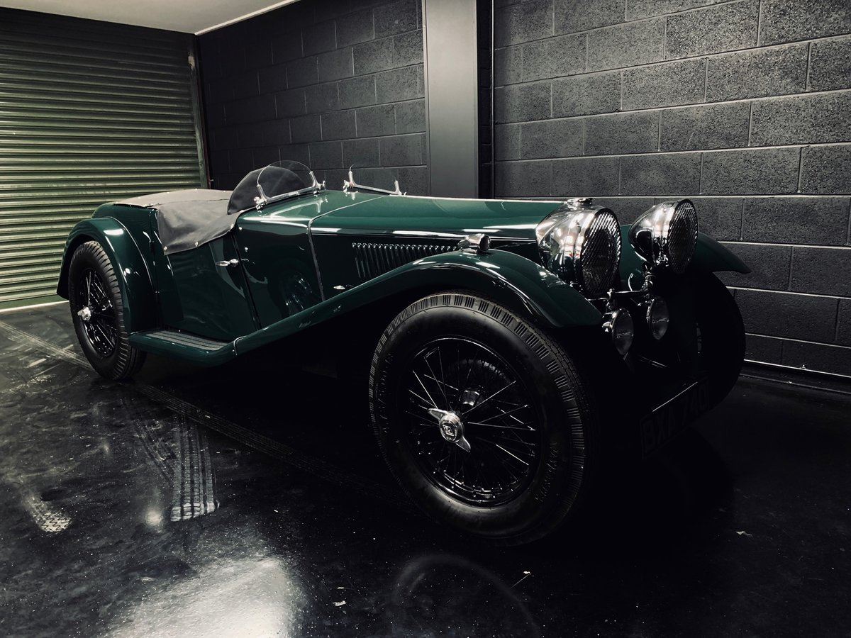 1935 Riley 12/4 Special 2+2 Sports Tourer For Sale (picture 1 of 10)