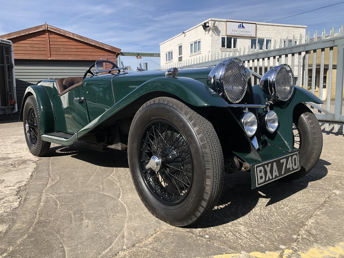 1935 Riley 12/4 Special 2+2 Sports Tourer For Sale (picture 9 of 10)